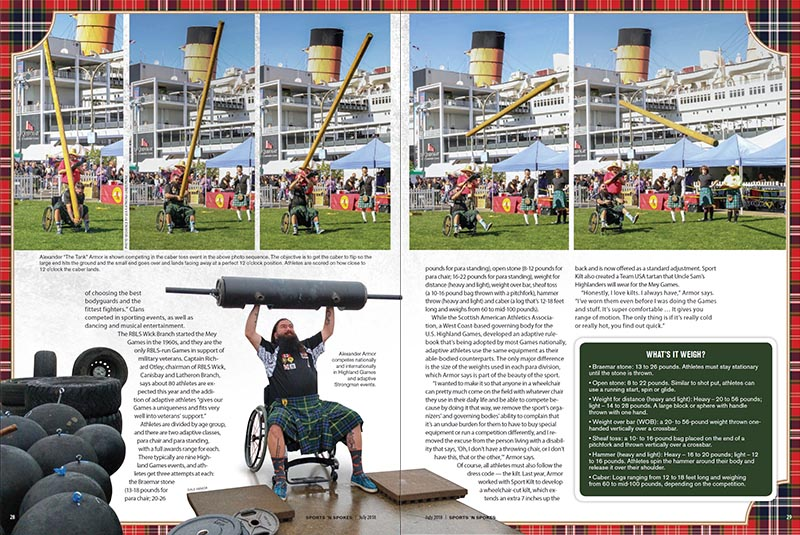Sports & Spokes Magazine July 2018 p28-29